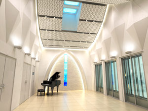 音楽ホールのイメージパース